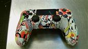 EVIL CONTROLLERS Video Game Accessory STICKER BOMB PS4 CONTROLLER